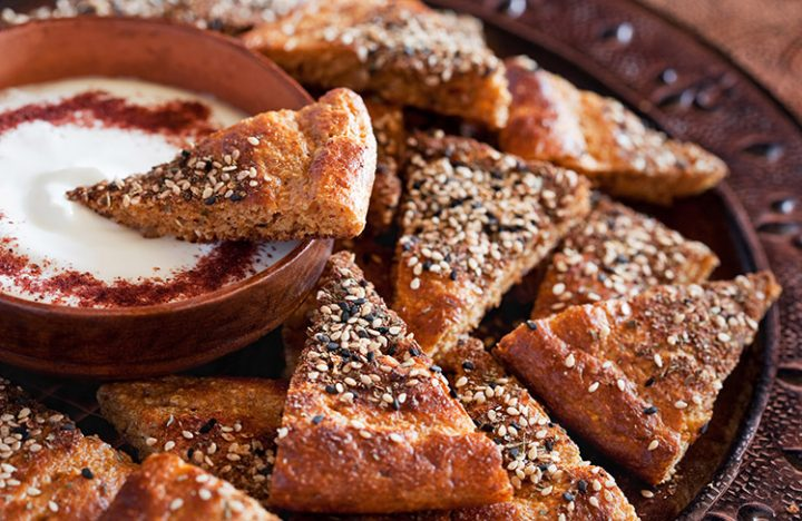 Zaatar Bread Recipe