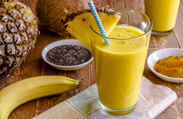 Turmeric & Ginger Smoothie
